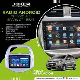 Radio para Auto Android Chevrolet Spark GT Beat  Aceptamos Tarjeta