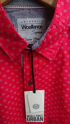 Camisa Woallance Nueva Original Talla S