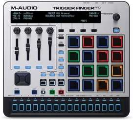 M-audio trigger finger pro controlador midi