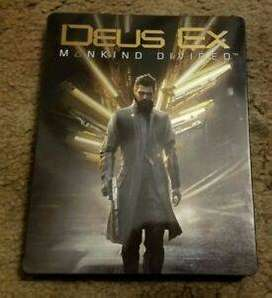 Deus Ex mankind Divided EDICION COLECCIONISTA nuevo Xbox One
