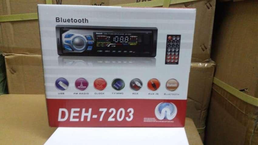 Auto Stereo Deh7203 Usb Bluetooth Mp3 Wma Fm con control remoto 0