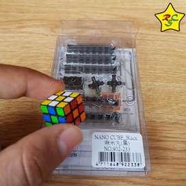 Nano Cubo Maru Rubik Cube 3x3 Mas Pequeño Del Mundo Negro
