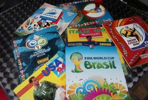 Album de panini mundial de futbol se vende se cambia se completa 0