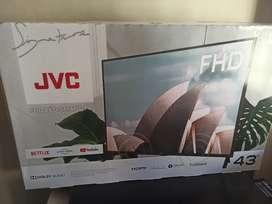 Televisor SMART TV marca JVC 43 Pulgadas