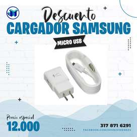 Cargador Samsung Micro USB