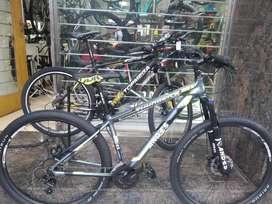 Bici Aluminio Full Shimano Oroño Bike