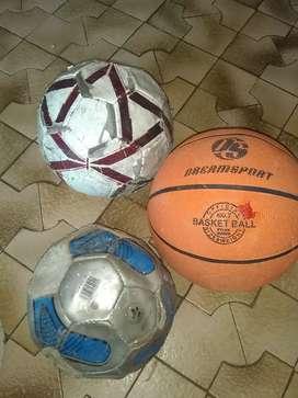 Dos pelota fútbol