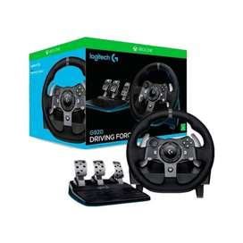 Volante Logitech G920 Xbox Series/One Y Pc