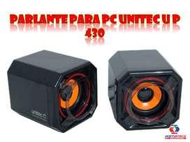 PARLANTE PARA PC UNITEC U P 430