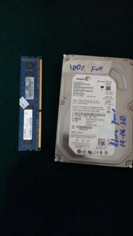 DISCO DURO 80 GIGAS + 2 GIGAS RAM DDR3