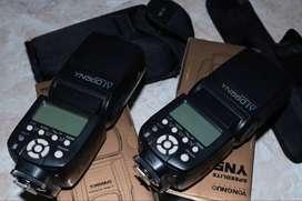 2 Flash YN 560 IV  usados