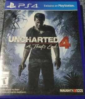 Uncharted 4: A Thief's End(precio negociable)