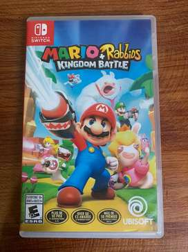 Mario and Rabbios battlen kindom