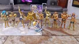 Saint Seiya 10 Gashapon Caballeros De Oro Bandai Motu Ps Heman dc marvel legends tmnt