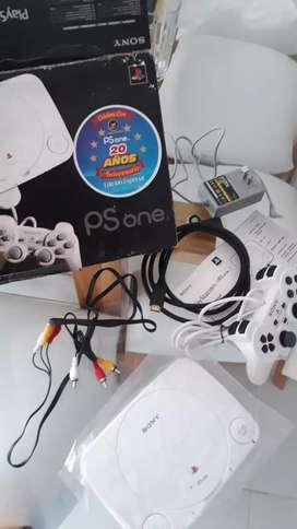 Vendo play station one juegos incorporados totalmente nuevo