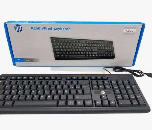 Teclado Hewlett Packard Usb K-200