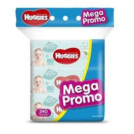 HUGGIES MEGA PROMO TOALLITAS HUMEDAS