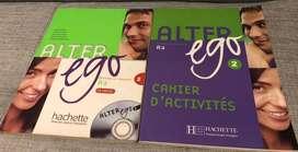 Libro de francés Alter ego 2
