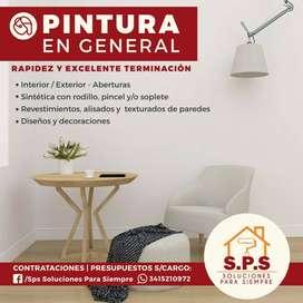 PINTURA INTEGRAL DE OBRA Y DOMICILIOS