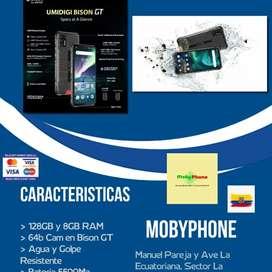 Umidigi Bison GT 128GB y 8GB RAM, Camara 64mpx