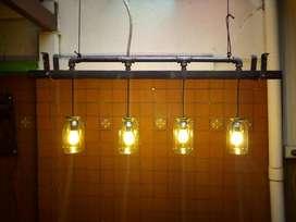 lampara de techo  estilo gotica