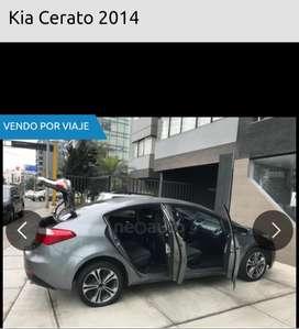 Por viaje se vebde Kia Cerato del 2014