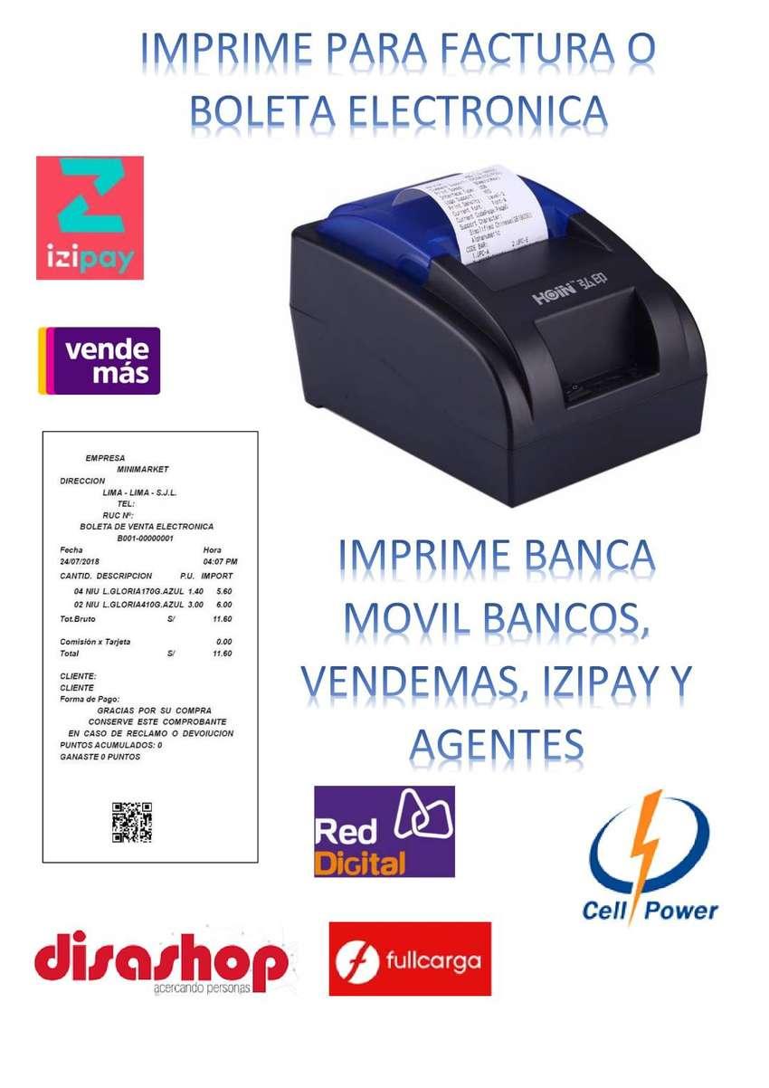 IMPRESORA TICKETERA TERMICA - USB 58MM 0