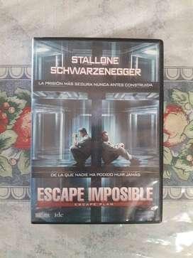 Dvd Escape Imposible Original