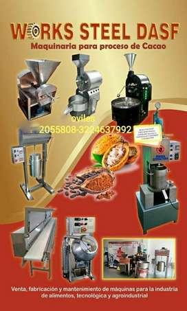 fabricantes de tostadoras refinador SELLADORA  silo pasteurizador  d escascarilladoras refinador molino etc