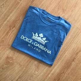 Camiseta dolce gabbana algodon