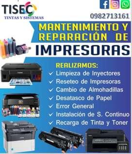 Servicio técnico de Impresoras Epson