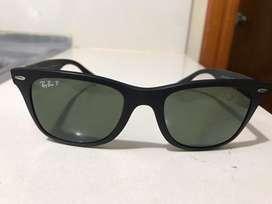 Lentes ray ban wayfarer liteforce polarizadas, gafas rayban RB4195