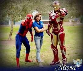 Trajes de Iron Man en Fibra de Vidrio