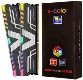 Memoria RAM V-Color Prism RGB (2 x 8 GB) DDR4 3200 MHz