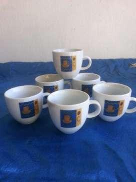 Tazas de café bazar porcelana
