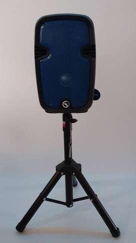 parlante bluetooth - cabina inalambrica con microfono y control envio gratis