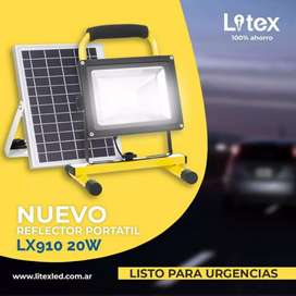 REFLECTOR SOLAR LED 20W