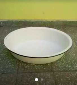 Tina de porcelana antigua