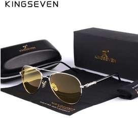 Lentes Hd Kingseven Estuche Paño Caja Gafas iPhone X S8 Rayban