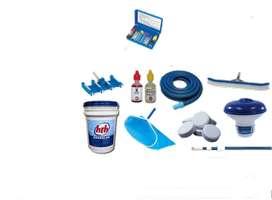 Químicos, Equipamiento, Accesorios para Piscina