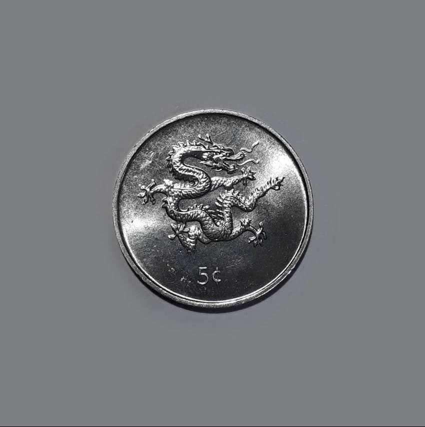 Moneda de Liberia, 5 cents, 2000, sin circular UNC 0
