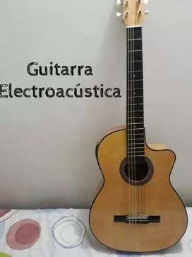 Guitarra electroacustica como nueva