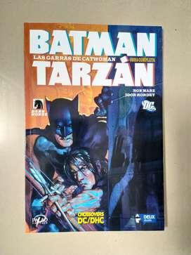 Comics Batman y Tarzan