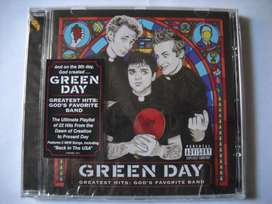 green day greatest hits god's favorite band cd sellado