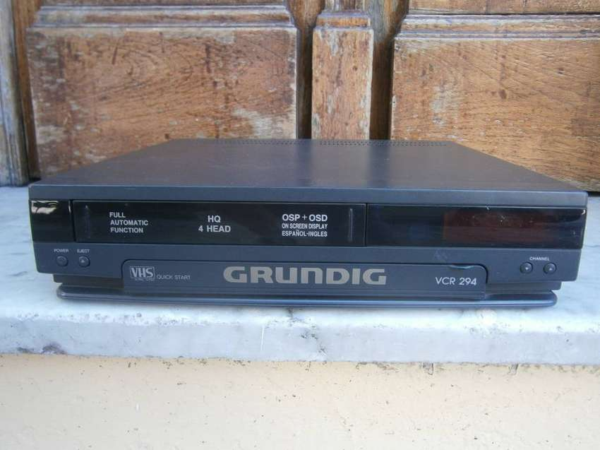 videograbadora grundig modelo vcr 294 0