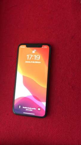 Iphone x de 256gb con 90% de bateria