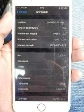 Vendo o cambio iphone 7 plus de 128gb