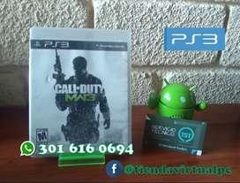 JUEGO DE PS3 CALLOFDUTY MW3 USADO EN BUEN ESTADO