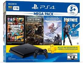 Play Station 4 (3 PACK)