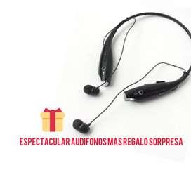 Audífonos cuellero Bluetooth
